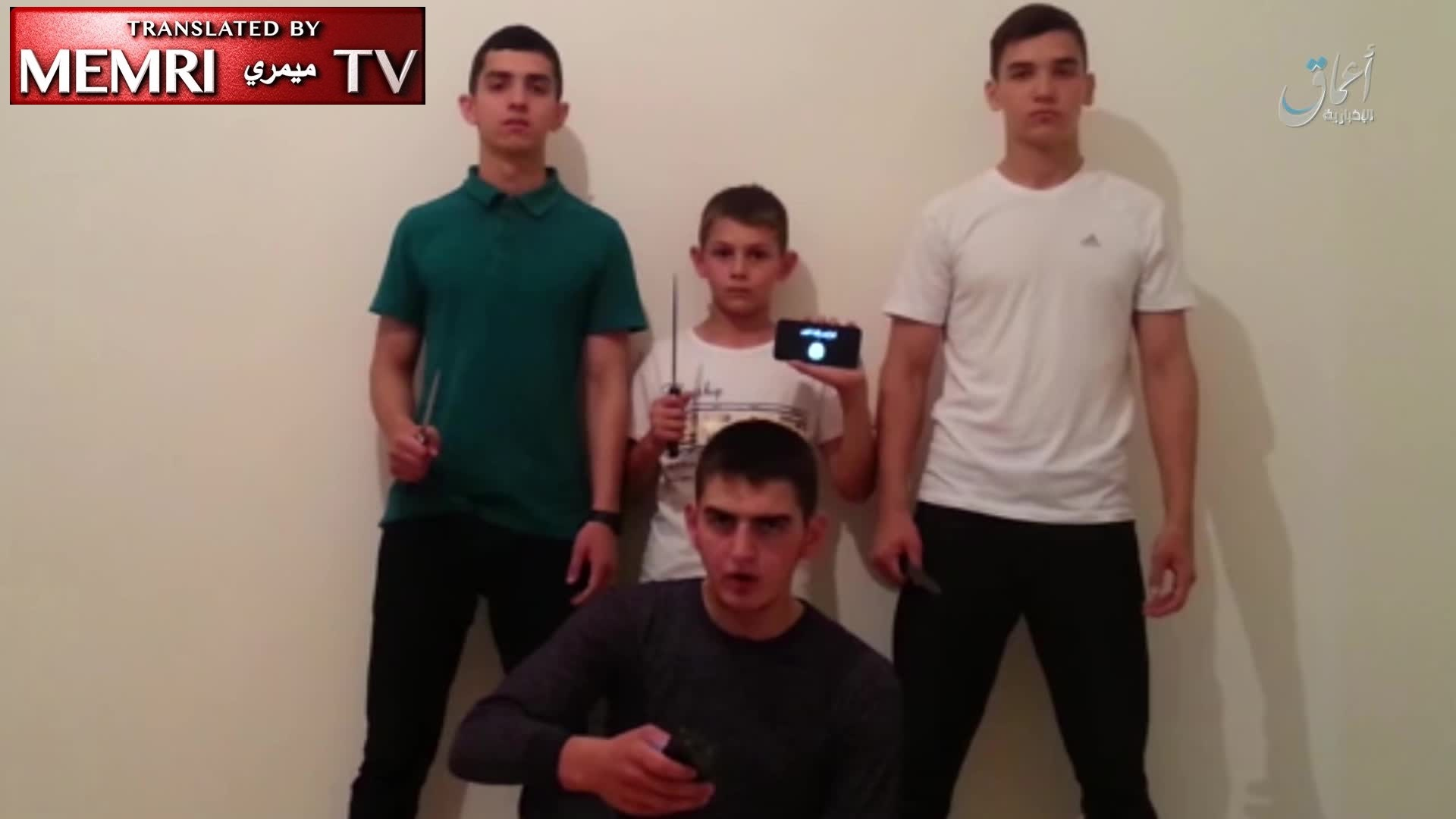 Child Perpetrators of Chechnya Attacks Pledge Allegiance to ISIS: We Shall Write Our Words in Our Blood When We Are Martyred